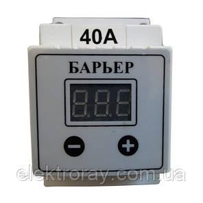 Барьер (реле напряжения) цифровой 40А DIN RedLine, фото 2