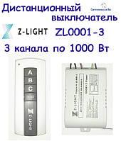 Поступление в продажу дистанционных выключателей на 2 и на 3 канала фирмы Z-LIGHT!