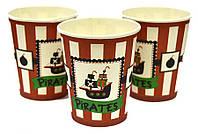 """Набор стаканчиков """"Пираты 2"""" 10 штук"""