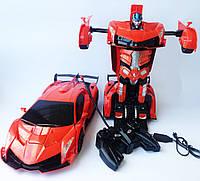 Робот-трансформер Lamborghini 35см на радиоуправлении