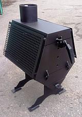 """Экономичная дровяная печь """"Турбина - 50"""" 4 мм, фото 3"""