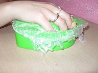 Чехол полиэтиленовый на ванночку для маникюра 35х35 см, 50 шт./ уп.