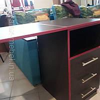 Маникюрный стол раскладной без надставки., фото 1