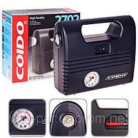 Компрессор COIDO 2702 (300psi) манометр/фонарь