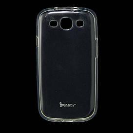 Чехол накладка для Samsung Galaxy S3 i9300i Duos силиконовый IPAKY, Прозрачный