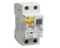 Автоматический выключатель дифференциального тока IEK АВДТ 32 2р С25