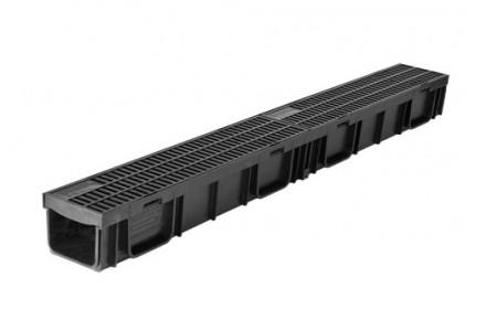 Лоток ЛВ -10.11,5.9,5 LIGHT DN95 пластиковый с решеткой пластиковой кл.А