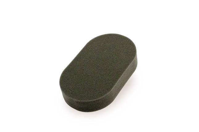 40860 148x88x35 мм Апликатор овальный для нанесения восков-Flexipads Soft Finishing Euro Foam Hand Applicator, фото 2