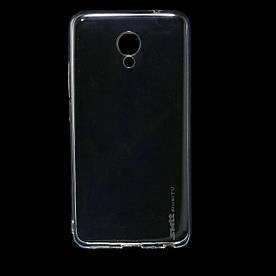 Чехол накладка для Meizu M5 Note силиконовый SMTT SIMEITU, прозрачный