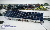 Сонячна електростанція 27,6 кВт м. Сокаль