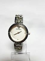 Женские часы на браслете Versace металлик, Белый