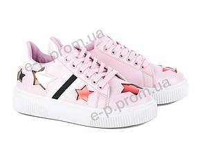 Кеды женские Violeta (81-1 pink) | 8 пар (Код 57806)