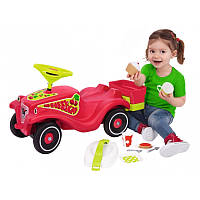 Машинка-Каталка с корзиной Bobby car classic cherry girl для пикника Big 56095  красная