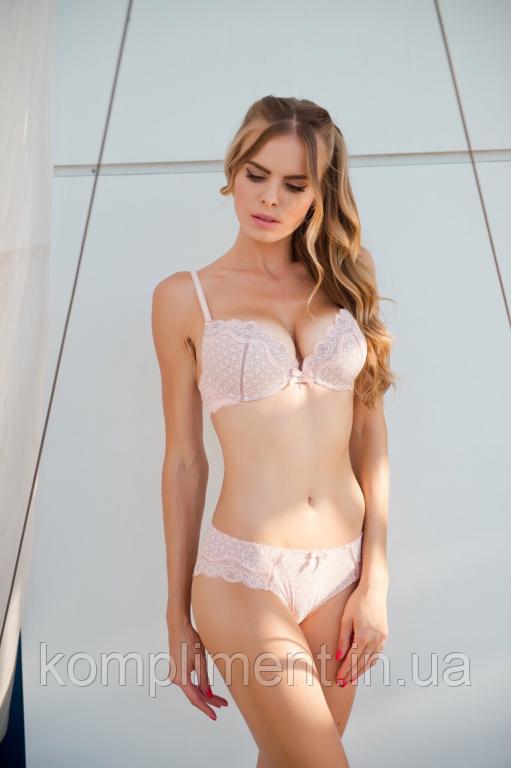 Розкішний жіночої нижньої білизни Lora iris 6440 рожевий