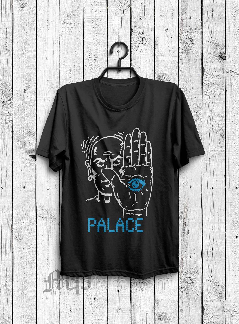 Футболка мужская Palace, пэлэс (черный), Реплика