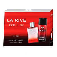 La Rive Red Line Подарочный набор для мужчин (Туалетная вода 90мл  Дезодорант 150мл)