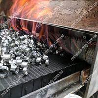 Транспортерная сетка для отжига и термообработки деталей.