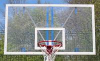 Щит баскетбольный игровой 1800х1050мм с оргстекла