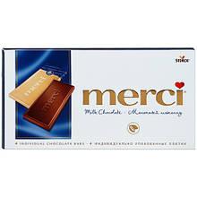 Шоколад Merci Tablets молочный 100 г