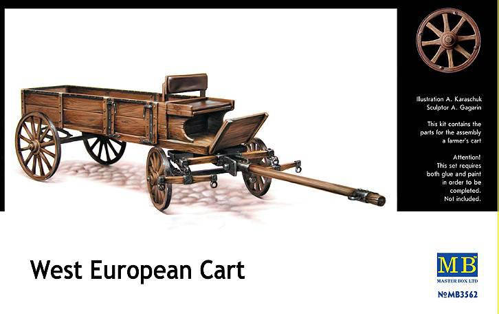 West European Cart. 1/35 MB3562, фото 2