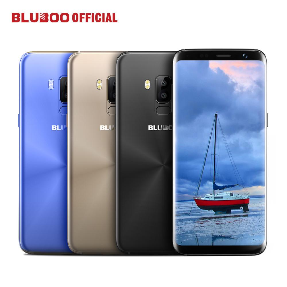 "Смартфон Bluboo S8 3/32Gb, 13/5Мп, экран 5.7"" IPS, 2sim, 4G, 8 ядер, GPS, 3450mAh, Android 7.0"