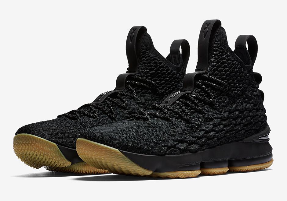 796badd8 Новинка Баскетбольные кроссовки Nike LeBron 15 Black Gum / найк леброн 15  (Топ реплика ААА+