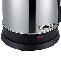➔Электрочайник Grunhelm EKS-2018 мощность 2000 Вт на 1.8 литра для кухни, фото 2