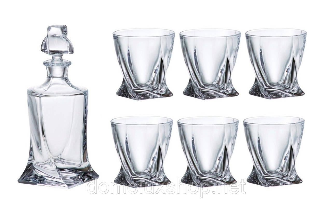Bohemia Quadro Набор для виски 7 предметов  (99999 99A44 480)