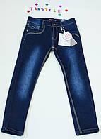 Утепленные джинсы  для мальчика на рост 134 см     , фото 1