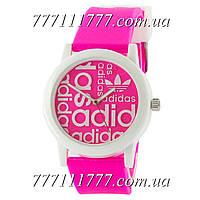 Часы женские наручные Adidas White-Pink Silicone