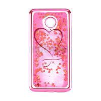 Beckberg Aqua Series for Samsung J330 (J3-2017) Hearts Pink