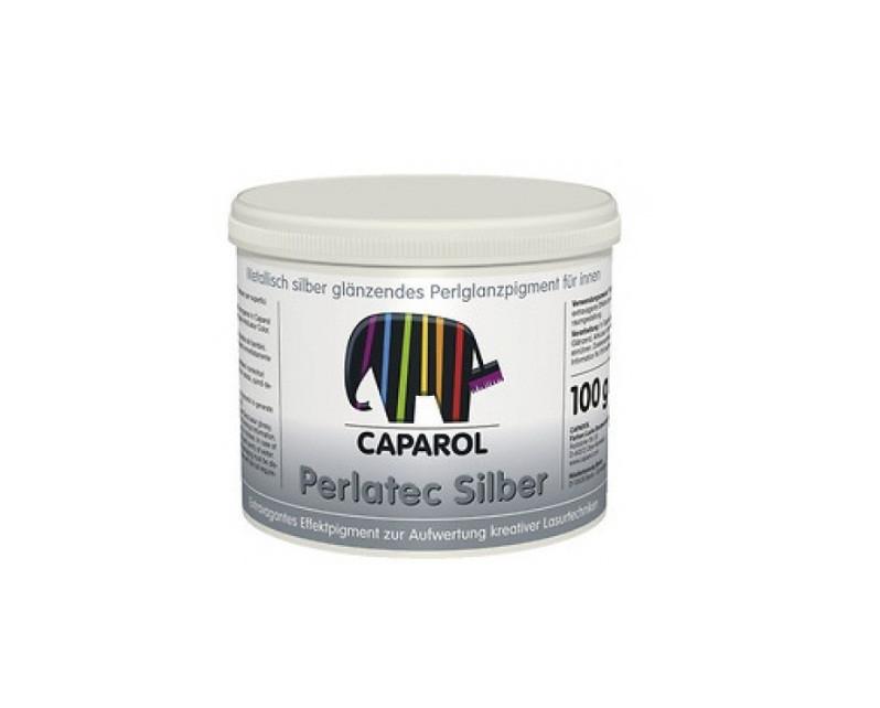 Пигмент-металлик CAPADECOR PERLATEC SILBER, 0,1кг