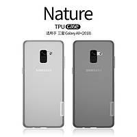 TPU чехол Nillkin для Samsung Galaxy A8 Plus (2018) (2 цвета)