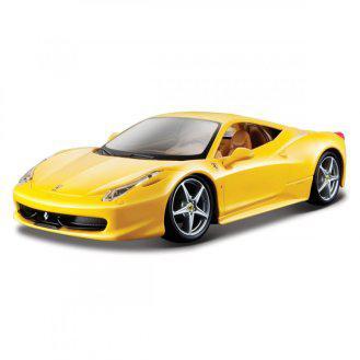 Автомодель - 458 ITALIA ( желтый, красный) 18-26003