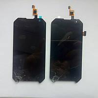 Дисплей з сенсором (модуль) для Blackview BV6000 BV6000S Розбиті