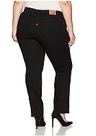 Женские классические черные джинсы LEVIS 414 Classic Stretch Straight Jeans W16 (W34L32) оригинал.