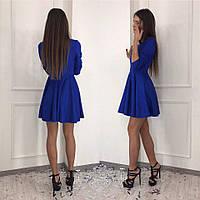 Платье коктельное очень яркое