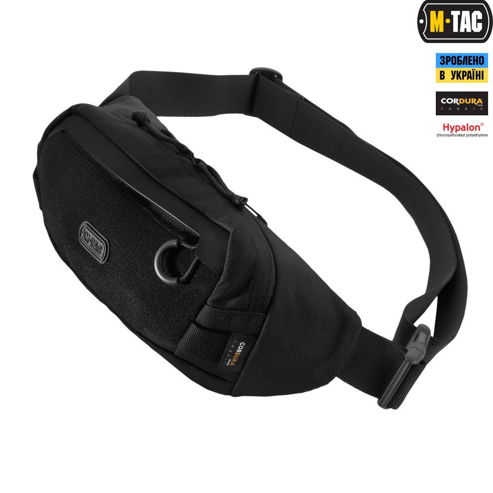 M-Tac сумка Waist Bag Elite Black