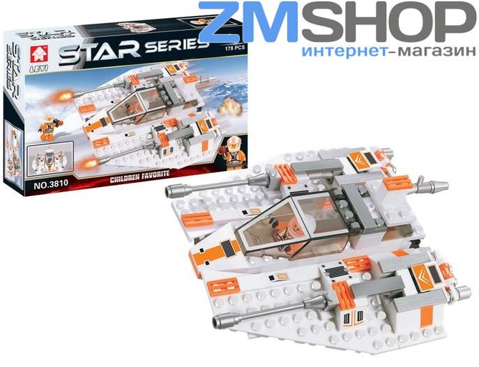 Конструктор Leyi 3810 Star Series (Звездная серия Истребитель)