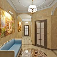 Визуализация 3-х комнатной квартиры