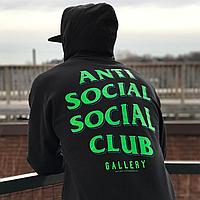 Толстовка стильная   худи RSVP Gallery x Anti Social Social Club Capsule