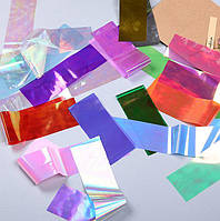 Фольга для дизайна Битое стекло 10 шт