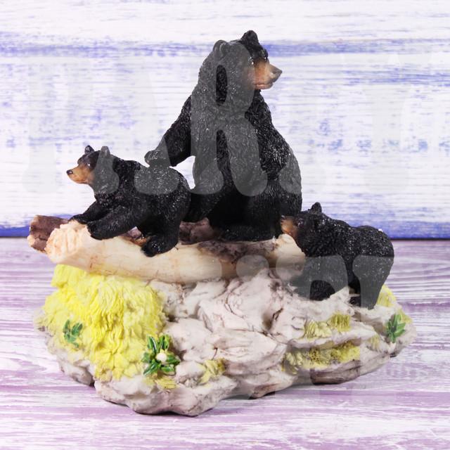 статуэтка три медведя