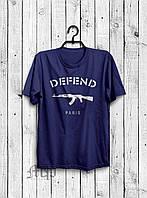 Футболка мужская Defend Paris, Реплика