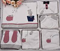 """Набор одежды для ребенка """"Зайка-рыбак"""", с красивой вышивкой"""