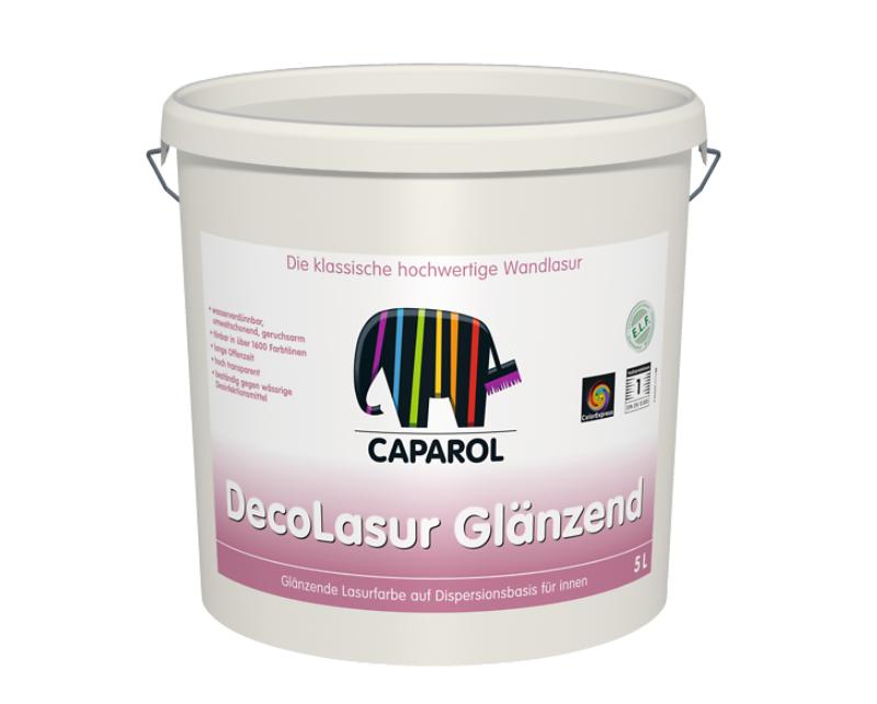 Лазурь акриловая CAPADECOR DECO-LASUR GLANZEND, 5л