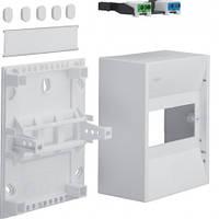 Распределительный мини-щиток открытой установки на 6 модулей, н/у, 30V Hager