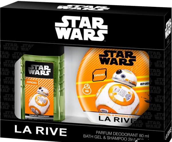 La Rive Star Wars Droid Подарочный набор для мужчин (Дезодорант 80мл / Гель для душа 2в1)