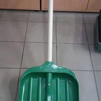 Лопата снегоуборочная пластиковая усиленная с черенком(Харьков)