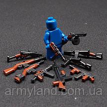 Военные фигурки,Пак 10шт. оружия Вторая Мировая, аналог лего, BrickArms, фото 2